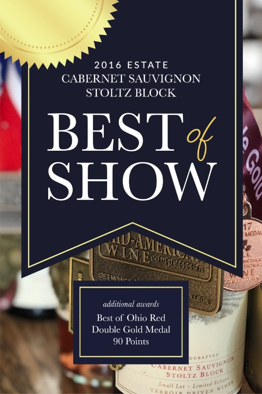 Cabernet Sauvignon Award Photo