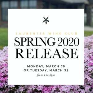 Spring 2020 Club Wine Release Image